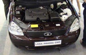 В 2012 году на рынок может выйти Lada Priora CNG Plus на газе
